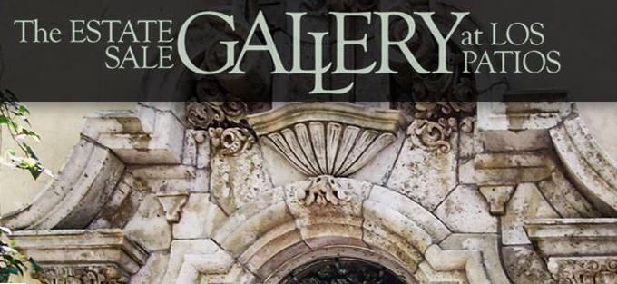 Estate Sale Gallery At Los Patios. Location: San Antonio ...